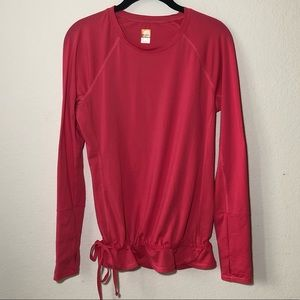 Lucy lucytech Cinched Long Sleeve Shirt